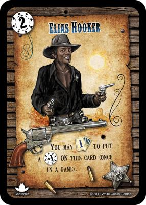 Revolver: Elias Hooker Promo Card