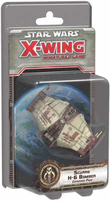 Star Wars: X-Wing Miniatures Game - Scurrg H-6 Bomber Expansion Pack