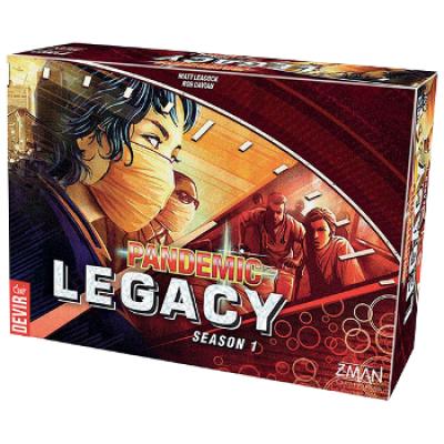 Pandemic Legacy: Rojo