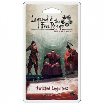 Legend of the Five Rings: The Card Game - Twisted Loyalties Dynasty Pack