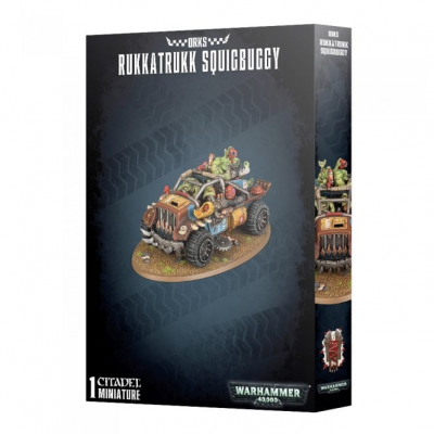 Warhammer 40,000: Orks - Rukkatrukk Squigbuggy