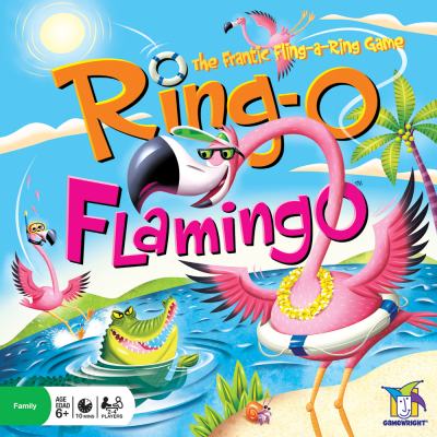 Ring-O Flamingo