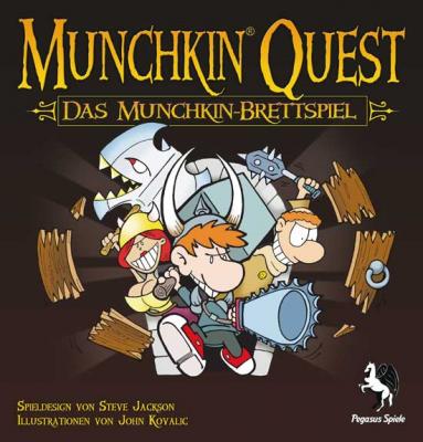 Munchkin Quest - Das Brettspiel