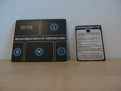 Star Trek: Attack Wing – Reinforcements Sideboard Resource