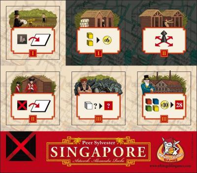 Singapore: Essen 2011 bonus tiles