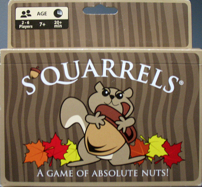 S'quarrels: A Game of Absolute Nuts