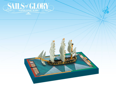 Sails of Glory Ship Pack: Alligator 1782 / Le Fortune 1780