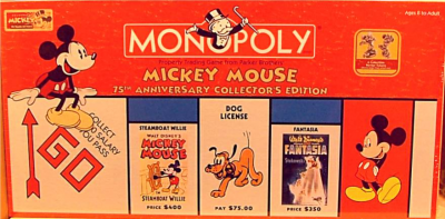 Monopoly: Mickey Mouse 75th Anniversary