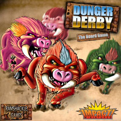 Dunger Derby the Board Game