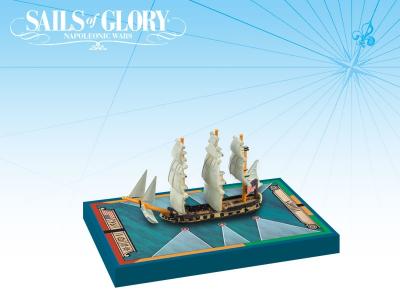 Sails of Glory Ship Pack: Thorn 1779 / USS Atalanta 1781