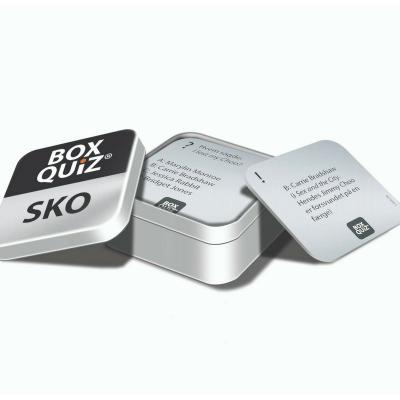 Box Quiz: Sko