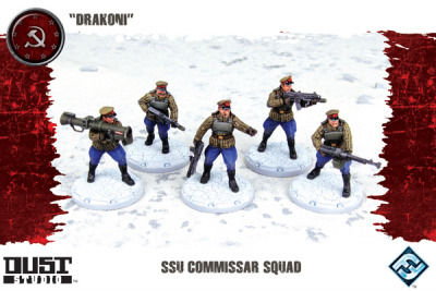 "Dust Tactics: SSU Commissar Squad - ""Drakoni"""