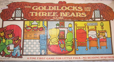 The Goldilocks and the Three Bears Game