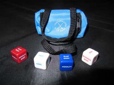 Hockey Ice Dice
