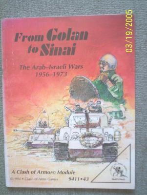 From Golan to Sinai. The Arab-Israeli Wars 1956-1973
