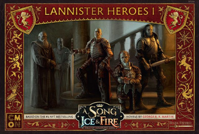 A Song of Ice & Fire: Tabletop Miniatures Game – Lannister Heroes I