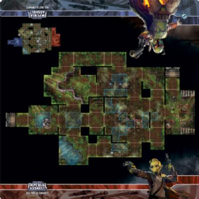 Star Wars: Imperial Assault Skirmish Maps - Nal Hutta Swamps