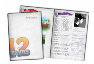 12 Realms: Art Book