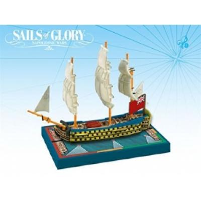 Sails of Glory Ship Pack: HMS Royal George 1788 / HMS Hibernia 1804