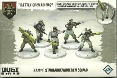"""Dust Tactics: Kampf Sturmgrenadieren Squad - """"Battle Grenadiers"""""""