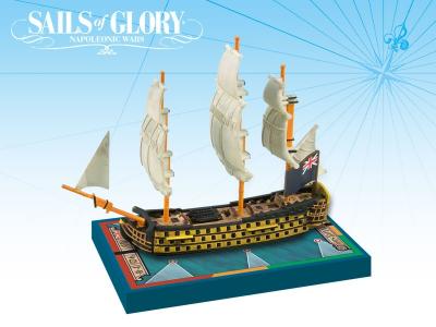Sails of Glory Ship Pack: HMS Royal Sovereign 1786 / HMS Brittania 1762