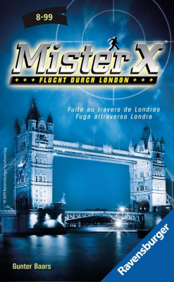 Mister X: Flucht durch London