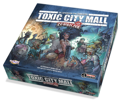 Zombicide: Toxic City Mall Tiles