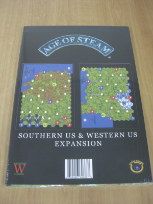 Age of Steam Expansion: Southern US / Western US