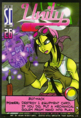 Sentinels of the Multiverse: Unity Hero Character