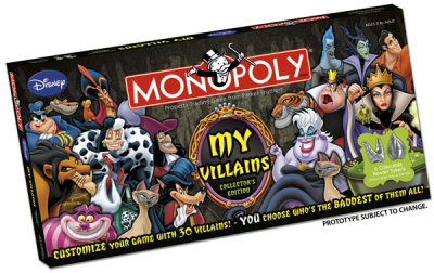 Monopoly: My Disney Villains
