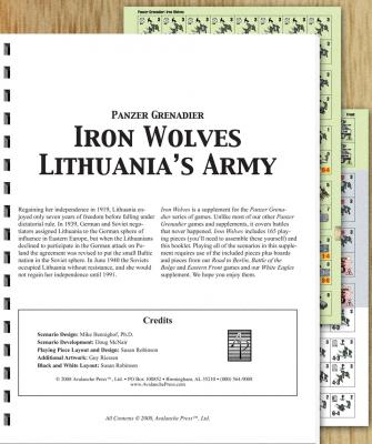 Panzer Grenadier: Iron Wolves