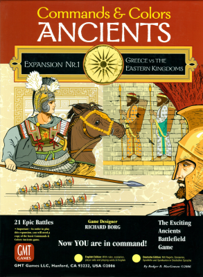 Commands & Colors: Ancients Expansion Pack #1: Greece & Eastern Kingdoms