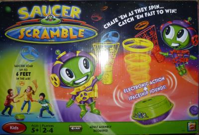 Saucer Scramble