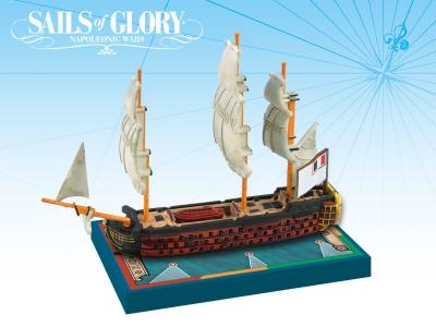 Sails of Glory Ship Pack: Montagne 1790 / Commerce de Marseille 1788