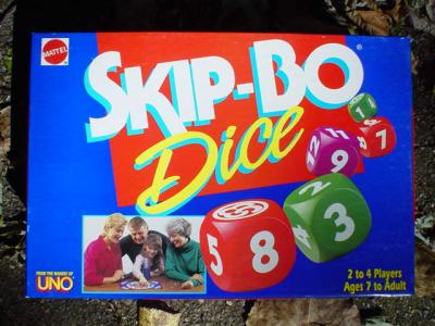 Skip-Bo Dice