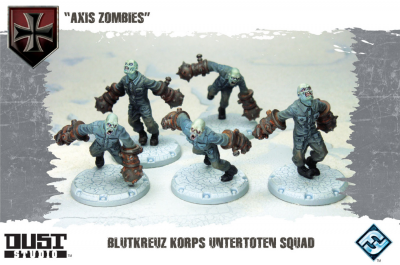"Dust Tactics: Blutkreuz Korps Untertoten Squad - ""Axis Zombies"""
