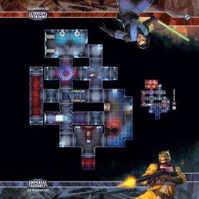Star Wars: Imperial Assault Skirmish Maps - ISB Headquarters