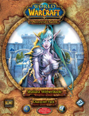 World of Warcraft: The Adventure Game; Shailara Witherblade Character Pack