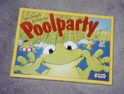 Die frosch-fröhliche Poolparty