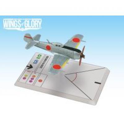Wings of Glory: WW2 Airplane Pack - Nakajima Ki-84 Hayate (Fujimoto)