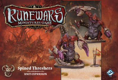 Runewars: The Miniatures Game - Uthuk Spined Threshers