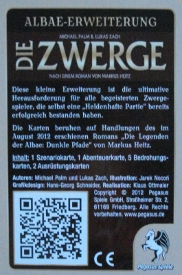 Die Zwerge: Albae Expansion