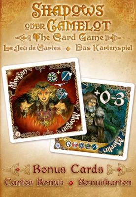 Shadows over Camelot: The Card Game - Merlin & Morgan Promo cards
