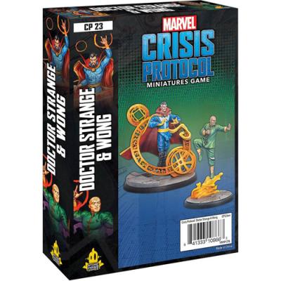 Marvel: Crisis Protocol - Dr. Strange & Wong Character Pack