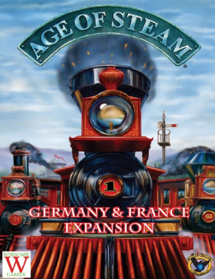 Age of Steam Expansion: Germany & France