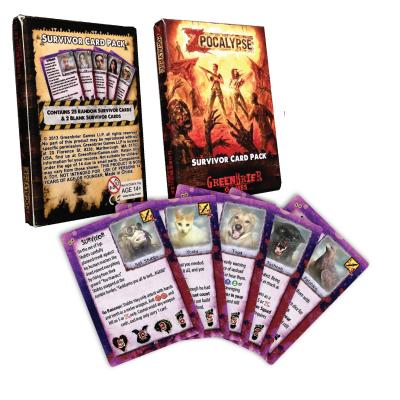 Zpocalypse: Animal Survivor Card Pack