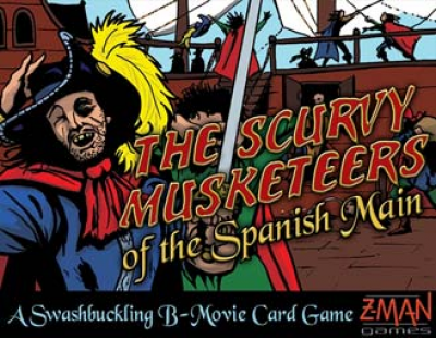 Scurvy Musketeers of the Spanish Main