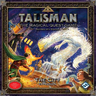 Talisman (fourth edition): Die Stadt