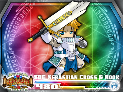 Super Dungeon Explore: Sebastian Cross and Rook