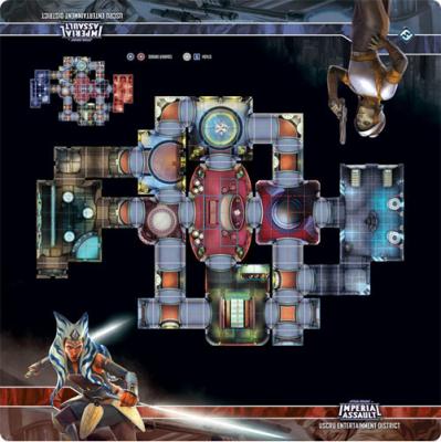 Star Wars: Imperial Assault Skirmish Maps - Uscru Entertainment District